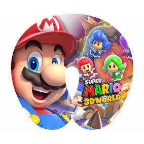 20 Almofadas Pescoço Lembrancinha Super Mario Bros