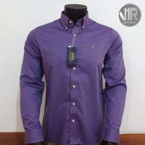 Camisa Social Ralph Lauren Original - Lilás b1f22ba9a79