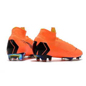 Chuteira Nike Mercurial Superfly V Laranja cinza neon Suarez · R  518 02 6cbf18de921ce