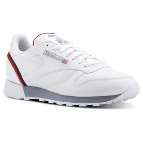 Teni Reebok Classic Leather Branco - Reebok no Mercado Livre Brasil 593db6044fc82