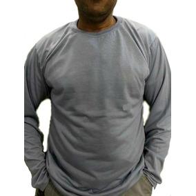 2f11c66f0 Camiseta 100% Poliester Manga Longa - Camisetas no Mercado Livre Brasil