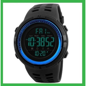 Reloj Skmei Hombre Sport Militar Digital Sumergible Azul
