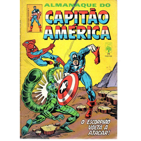 Almanaque Do Capitao America 71 - Abril - Bonellihq Cx05 A19