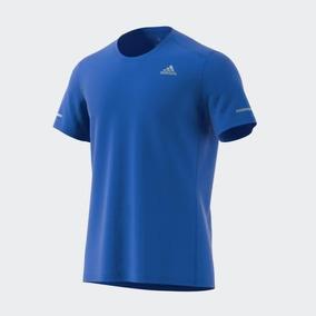 Playera adidas Run Correr Train Gym Sport Azul A Meses