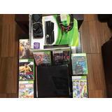 Xbox 360 Slim Con Chip Y Juegos Listo Para Jugar 10/10