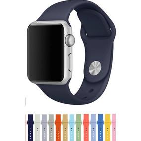 55fd4288d15 Pulseira Apple Watch S1 s2 s3 s4 Borracha Para 42mm 44mm