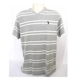 2d3dbc0a8e Camisa U. S. Polo Assn. Masculina Cinza Original