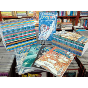 Manga Cavaleiros Do Zodiaco (falta O Numero 8) Tem 01 Ao 48