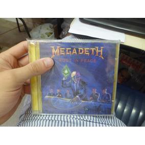 Cd Importado - Megadeth - Rust In Peace Frete 10,00
