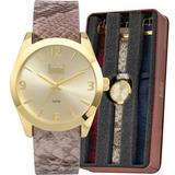 56b01b98cba Relógio Dumont Feminino Vip Troca Pulseiras Du2036lvk 2d