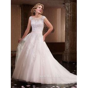 Vestido De Novia Marys Bridal Color Blush Talla 4