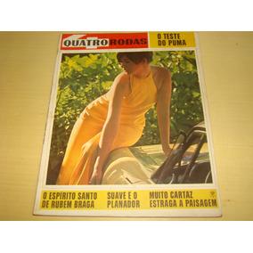 Revista 4 Quatro Rodas 83 Junho 1967 Puma Alfa Romeo R404
