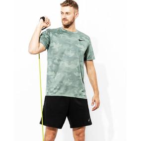 Playera Nike Dri Fit Camu 909350 Gym Entrenar Anti Olor