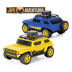 Jipe Aventuras Off Road + Pá + 2 Estepes L 27 X A 15 Amarelo