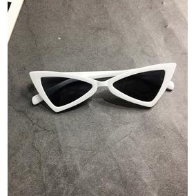 78ce4ce147327 Óculos Sol Triangular Vintage Retrô Cat Eye Gatinho Uv400. 2 cores. R  39 90