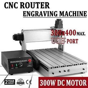 Cnc Router 3 Eje De La Máquina 3040t Máquina Con Usb Fu-1410