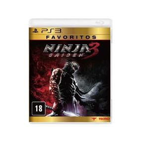 Ninja Gaiden 3 Ps3 Midia Fisica