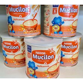 Mucilon Multicereais Cereal Infantil Kit 6 Latas 400g