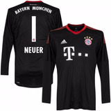 97ba6d65b4 Camisa Bayern Munique Preta 17-18 Gk Neuer 1 Importada