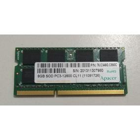 Memoria Ddr3 8gb 1600mhz Notebook Macbook Dell Frete Grátis