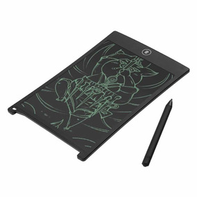 Tablet Infantil Desenhos Preto Tela 8.5 Luminoso