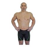 Short Natación Hombre Quickly Pierna Larga Resistente Cloro