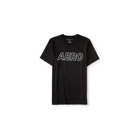 Camiseta Casual Aeropostale M/m Preta Stretch Top