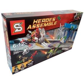 Lego Homem Aranha Contra O Crime Super Heroes 288 Pçs