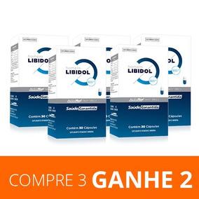 Promoção Libidol Masculino - Compre 3 Ganhe +2 | Oferta
