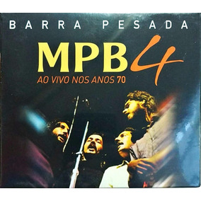Cd Box Mpb4 - Barra Pesada Ao Vivo Nos Anos 70 (2019)