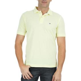 3d50b4faf0 Camisa Polo Colombo Masculina Lisa Amarelo 46477