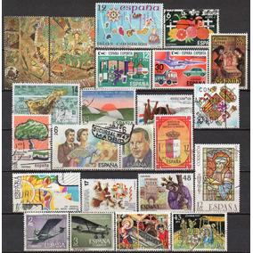 Espanha - Acumulação Com 22 Selos - 1980 A 1985