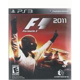 F1 2011 Para Play Station 3 Disco Físico
