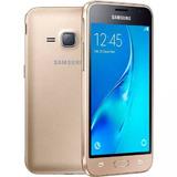Smartphone Samsung Galaxy J1 2016, Dourado,tela 4.5,8gb, 5mp