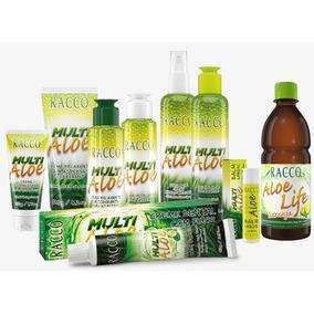 Kit 9 Itens Cuidados Pessoais Racco Multi Aloe E Aloe Life