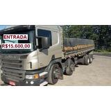 Scania P 310 8x2 Completa Ano 2013.