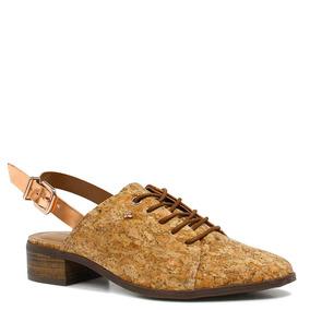 Sapato Cravo E Canela Chanel Fivela | Zariff