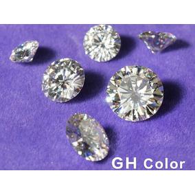 5 Zirconias Diamond Brillo Gh 8mm Joyeros Envio Gratis