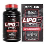 Lipo 6 Black Ultra Concentrado 60 Cápsulas - Importado