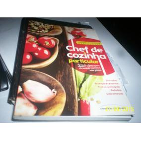 Livro Chef De Cozinha Particular Npn Peças N.iguaçú Rj
