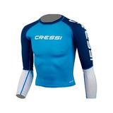 Camisa Camiseta Atividades Aquáticas Juvenil Rocks Cressi 631c0ecab5