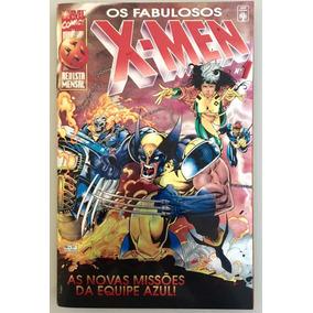 X-men Os Fabulosos Capa Metalizada