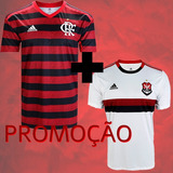 Combo Oficial Camisa Flamengo 18/19 adidas