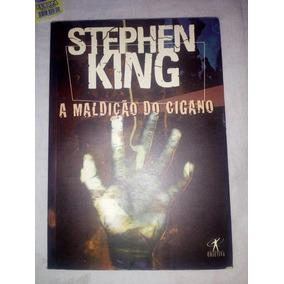 Livro A Maldição Do Cigano - Escritor Stephen King Barato.