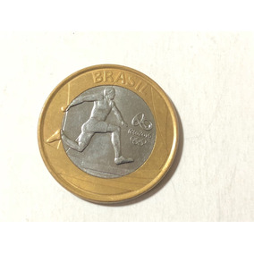 Frete Grátis - Moeda 1 Real Olimpíadas Atletismo 2014