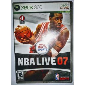 Xbox 360 - Nba Live 07 - Original Americano