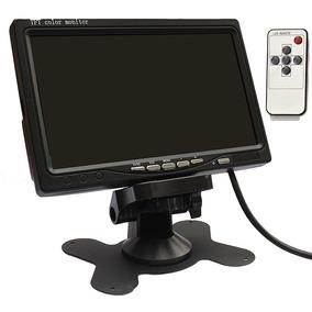 Tela E73 Lcd 7 Polegadas Portátil Monitor Veicular Digital