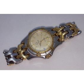 e5cb5cabe0e Relógio Bulova Marine Star Original Plaque De Ouro Unisex