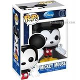 Funko Pop Mickey Mouse 01 Original Disney Scarlet Kids