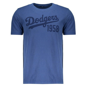 Camiseta New Era Los Angeles Dodgers Stripes Cinza - Calçados ... c70ada297ba